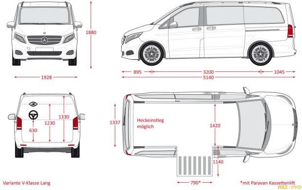 Mercedes V-Class для колясочников от PARAVAN