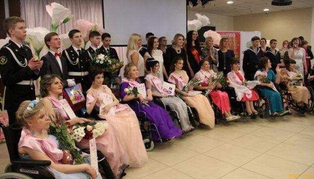 В Карелии прошел конкурс красоты для женщин на колясках