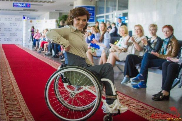 паралимпийская чемпионка Людмила Волчек