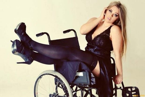 Красивые и горячие: модели с инвалидность - Кэти Ноулс