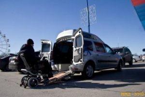 В Москве показали LADA Largus для колясочников