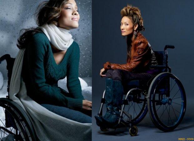 Красивые и горячие: модели с инвалидность - Анджела Роквуд