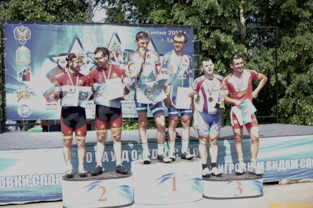 Кубок России по велоспорту слепых в Тамбове