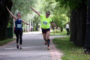 27 мая в Лошицком парке Минска бегали и улыбались