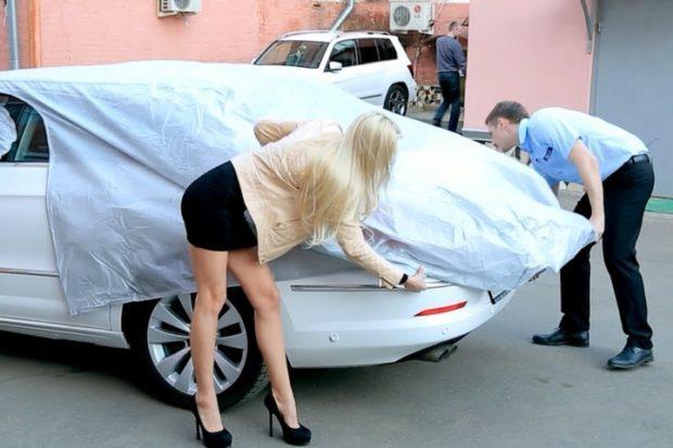 Защитный чехол для автомобиля: особенности