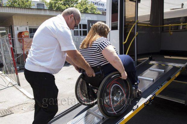 Автобусы для колясочников, из Симферополя в Саки