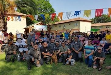 Пограничники провели «день открытых дверей» для детей-инвалидов