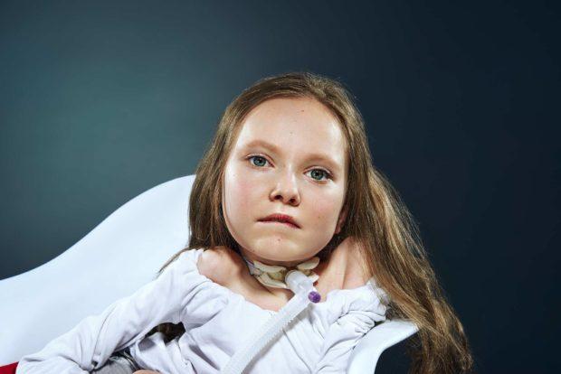 Ангелина Самусенко любит математику и хочет стать модельером
