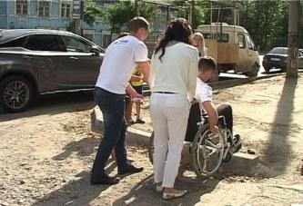 Неприступные бордюры в Кирове