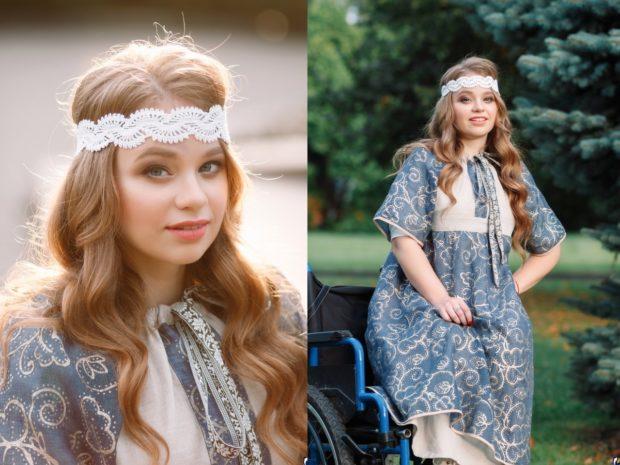 Известный российский дизайнер создаст коллекцию одежды специально для псковской девушки с инвалидностью
