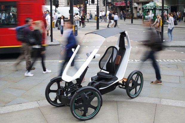 Schaeffler представила четырехколесный электровелосипед для города