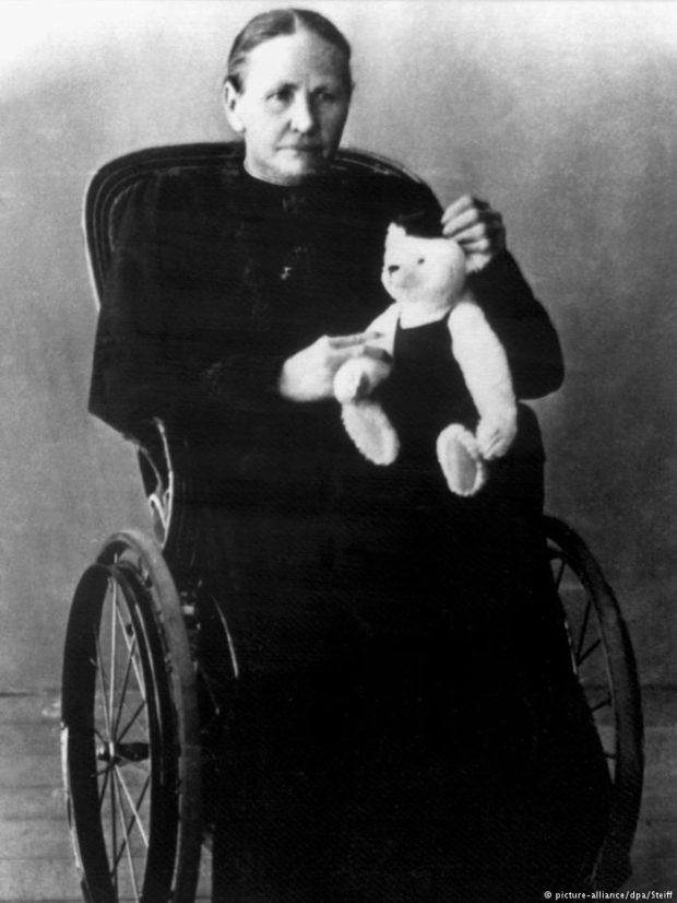 Маргарете Штайф. 1906 г.