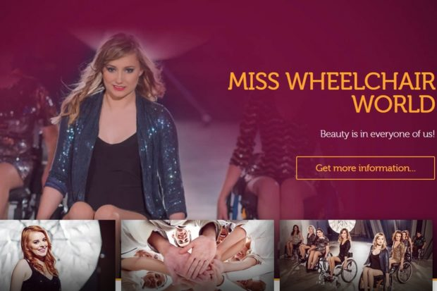 Конкурс Miss Wheelchair World среди девушек на инвалидных колясках