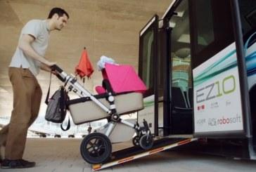 В Таллине начали курсировать беспилотные автобусы