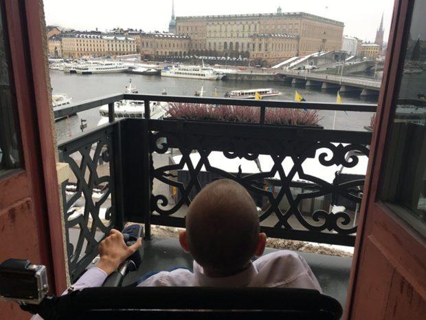 Валерий Спиридонов в Стокгольме