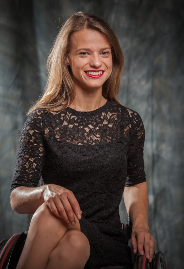 Александра Чичикова - финалистка конкурса Miss Wheelchair World среди девушек на инвалидных колясках