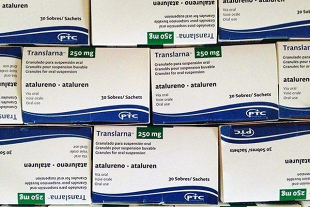 «Аталурен» (торговое наименование Translarna), зарегистрированный в Евросоюзе в 2014 году