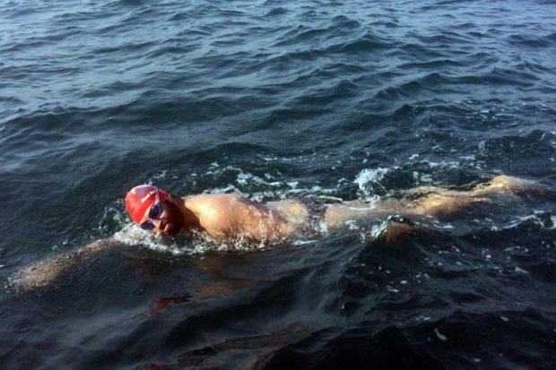 Австралийский инвалид переплыл Ла-Манш