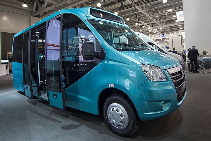 Электрический микроавтобус «ГАЗель NEXT»