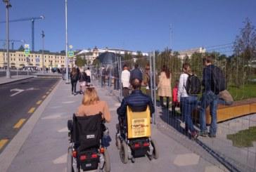 О доступности нового московского парка «Зарядье»