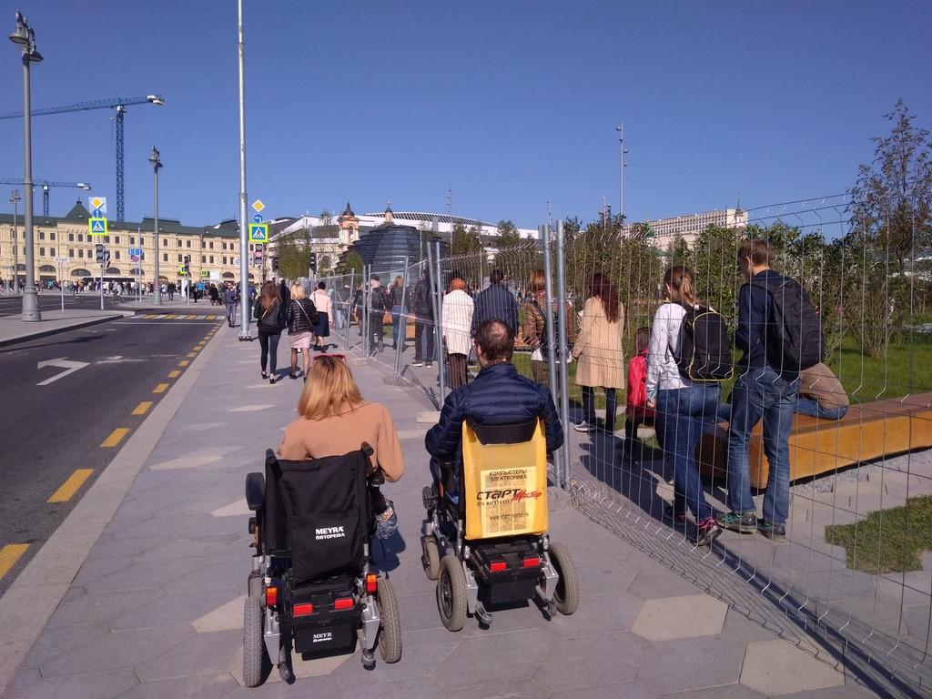 О доступности нового московского парка
