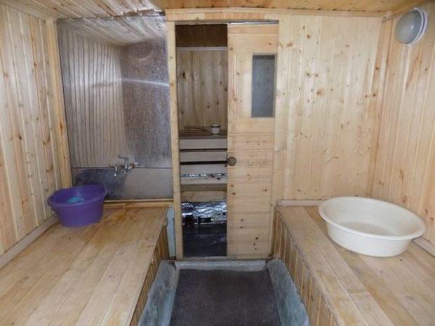 Уникальную баню для инвалидов построил житель Петропавловска