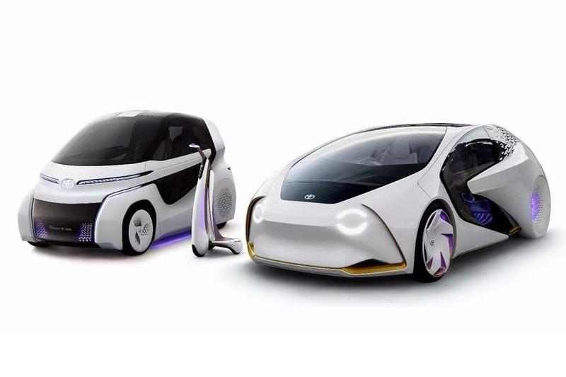 Toyota представила концепт-кар Concept-i Ride