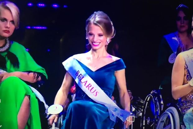 Александра Чичикова из Беларуси - Miss Wheelchair 2017