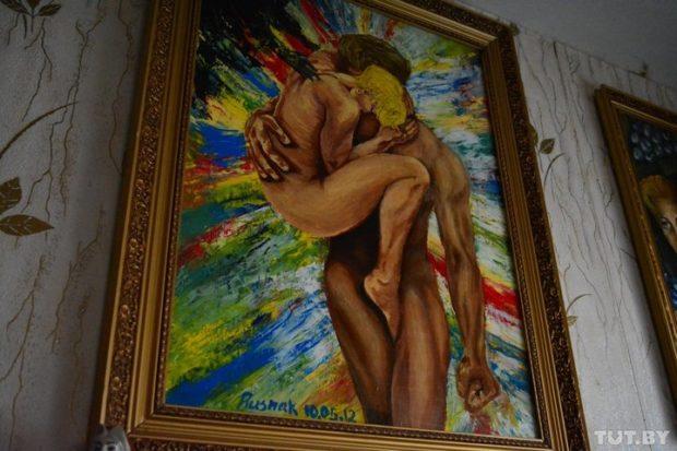 Единственная картина, которую Люба никогда не продаст, посвящена мужу