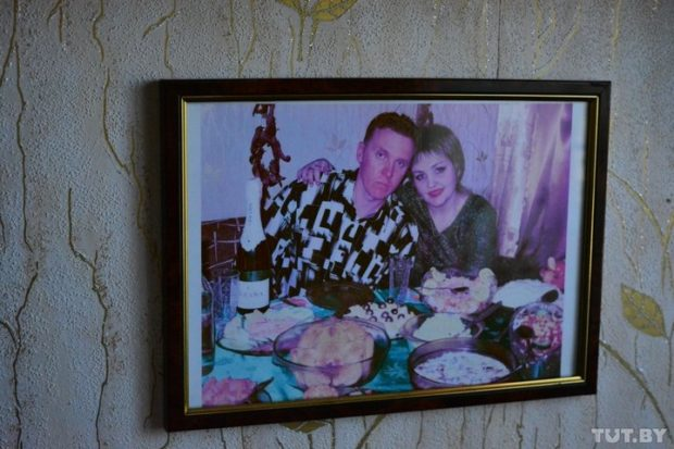 девять месяцев назад ее горе умножилось — умер муж Денис