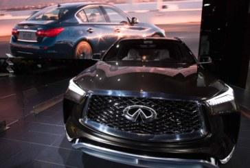 Nissan тестирует беспилотный Infiniti Q50
