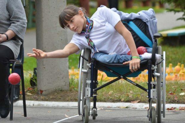 Амурские сироты-колясочницы покоряют Москву