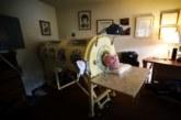 Мужчина 60 лет прожил в «железном легком»