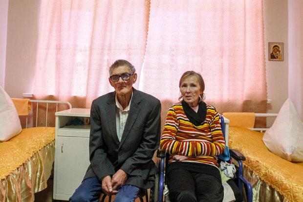 71-летний Геннадий Балакин и 60-летняя Рита Евреева сыграли свадьбу