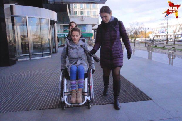 Александра считает, что коляска - это не ограничение для человека