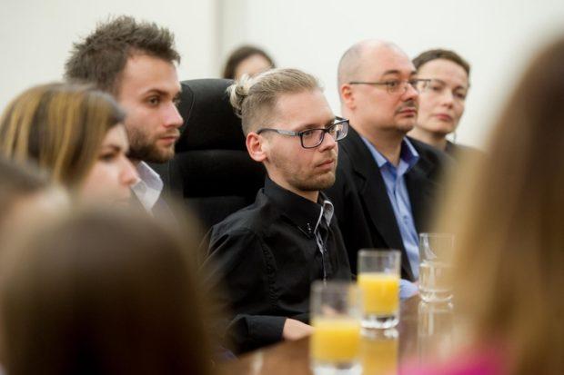 Łukasz Kufta - встреча фонда SMA с первой леди Польши