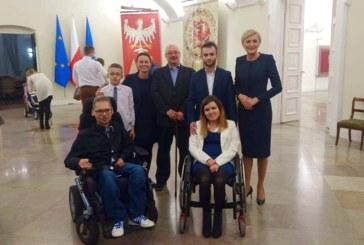 Łukasz Kufta – встреча фонда SMA с первой леди Польши