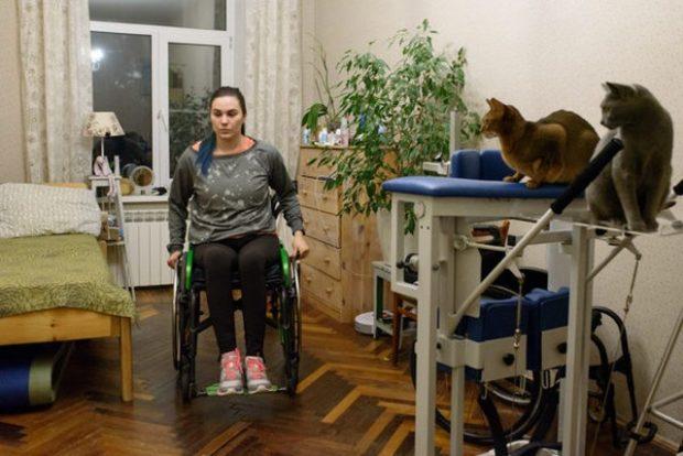 Зачем думать о том, почему я на коляске, если можно просто жить