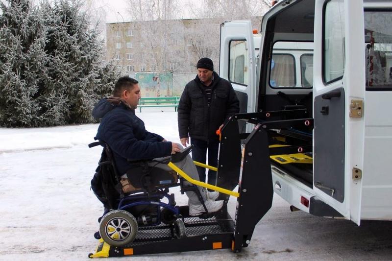В Пензе появился спецавтомобиль для инвалидов