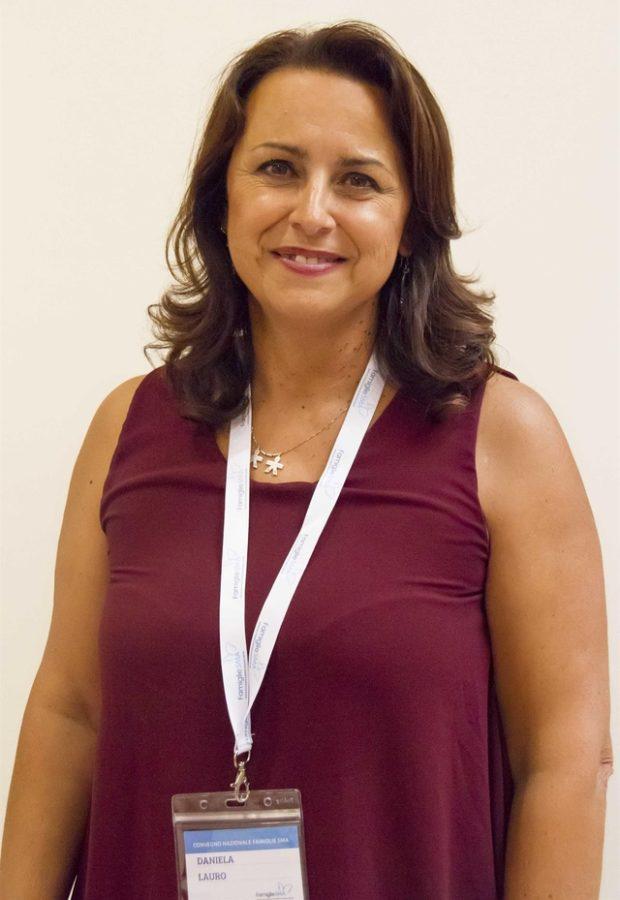 Daniela Lauro, президент итальянского фонда Famiglie SMA