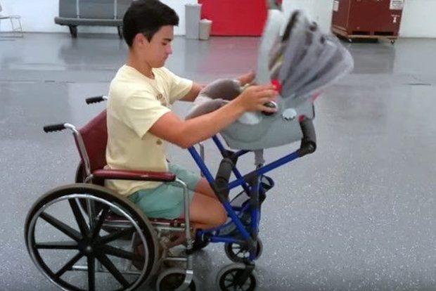 Мамам и папам колясочникам в помощь