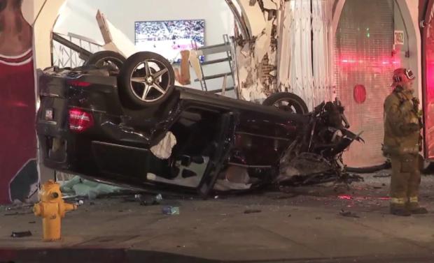 Елизавета Кузьменко попала в страшную аварию в Лос-Анджелесе
