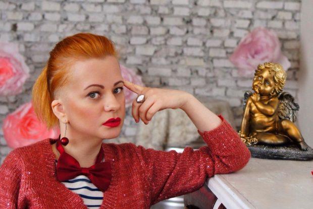 Анастасия Виноградова, профессиональная модель, стилист, участница проекта Bezgraniz Couture
