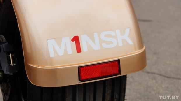 Первый белорусский электрический самокат M1NSK