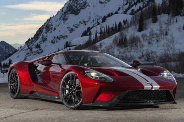 Первым в Скандинавии выпала честь сесть за руль нового Ford GT частично парализованному датчанину Джейсону Уатту