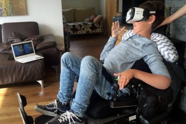 VR технологии для людей с ограниченными возможностями