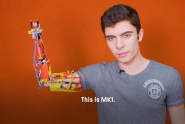 Роботизированный протез руки из Lego