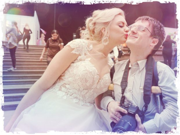 Мне очень было приятно получить волшебный поцелуй от Алёны Бекишевы