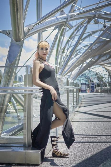Розалина Октавия - модель с ампутированной ногой вернулась на подиум