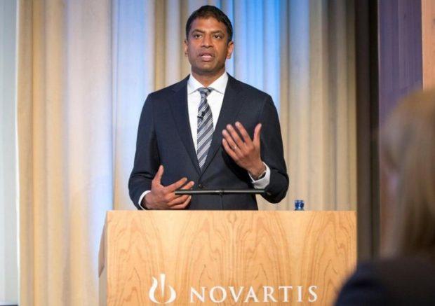 Васант Нарасимхан, генеральный директор Novartis
